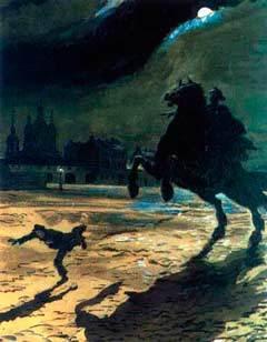 Краткое содержание Медный всадник Пушкина за 2 минуты пересказ сюжета