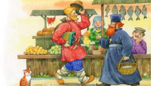 Краткое содержание Сказка о попе и его работнике Балде Пушкина за 2 минуты пересказ сюжета