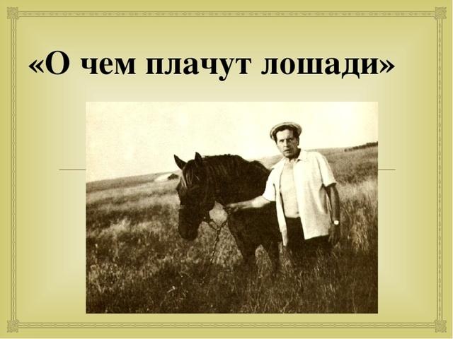 Краткое содержание рассказов Федора Абрамова за 2 минуты