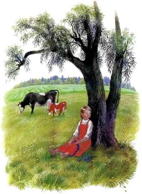 Краткое содержание Бодливая корова Ушинского за 2 минуты пересказ сюжета