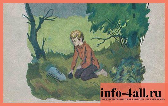 Краткое содержание Гайдар Горячий камень за 2 минуты пересказ сюжета