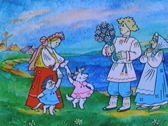 Краткое содержание сказки Девушка и Месяц - Чукотская народная сказка за 2 минуты пересказ сюжета