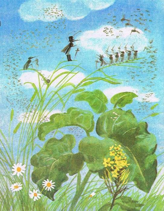Краткое содержание Сказка Про Комара Комаровича-длинный нос и про мохнатого Мишу-короткий хвост Мамин-Сибиряк за 2 минуты пересказ сюжета