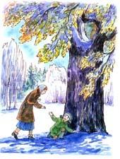 Краткое содержание Зимний дуб Нагибин за 2 минуты пересказ сюжета