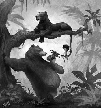 Краткое содержание Киплинг Книга джунглей за 2 минуты пересказ сюжета