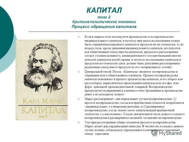 Краткое содержание Карл Маркс Капитал за 2 минуты пересказ сюжета