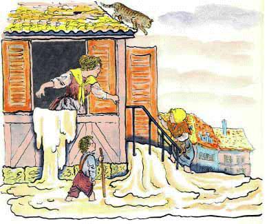 Краткое содержание сказки Сладкая каша Братья Гримм за 2 минуты пересказ сюжета