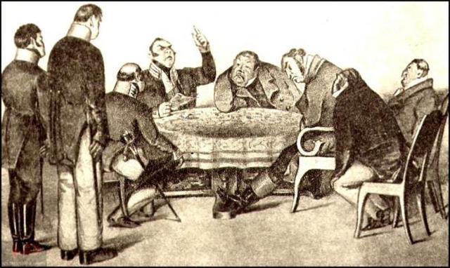История создания комедии Ревизор Гоголя за 2 минуты пересказ сюжета