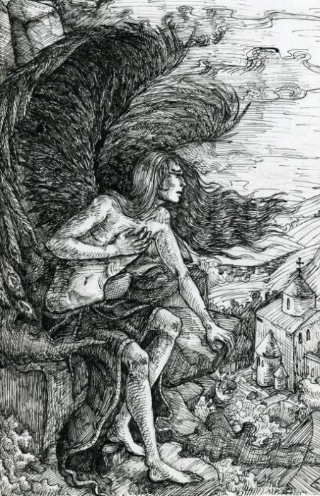 Краткое содержание Лермонтов Демон поэма за 2 минуты пересказ сюжета