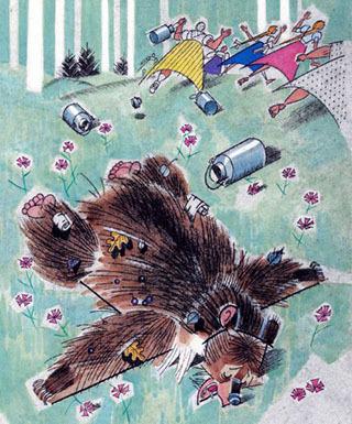Краткое содержание Дремучий медведь Паустовского за 2 минуты пересказ сюжета