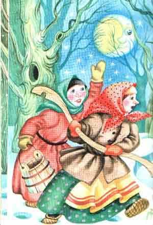 Лисичка-сестричка и волк - краткое содержание сказки за 2 минуты пересказ сюжета