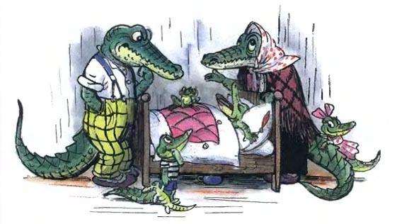 Краткое содержание Чуковский Крокодил за 2 минуты пересказ сюжета