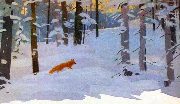 Краткое содержание Скребицкий Четыре художника за 2 минуты пересказ сюжета