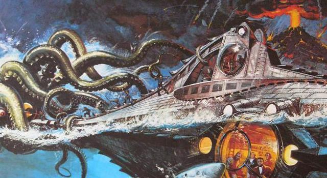 Краткое содержание Двадцать тысяч лье под водой Жюля Верна за 2 минуты пересказ сюжета