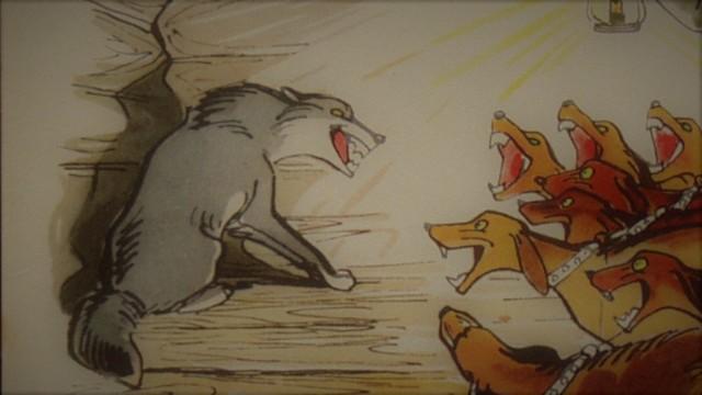Краткое содержание басни Волк на псарне Крылова за 2 минуты пересказ сюжета