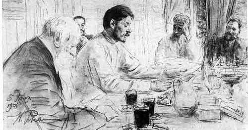 Краткое содержание рассказа Пожар Льва Толстого за 2 минуты пересказ сюжета
