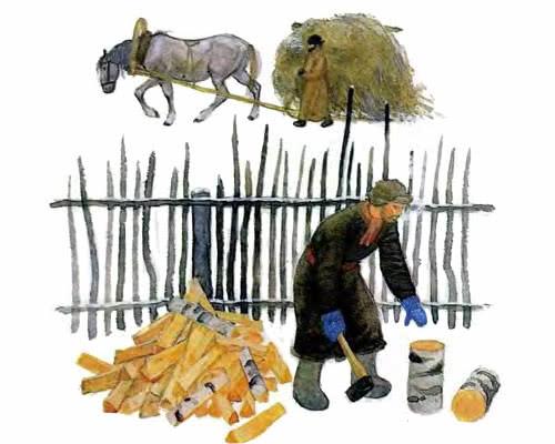 Краткое содержание Проказы старухи зимы Ушинского за 2 минуты пересказ сюжета