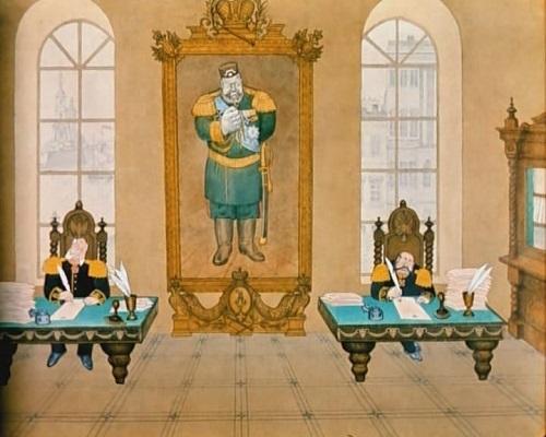 Краткое содержание Повесть о том как один мужик двух генералов прокормил Салтыкова-Щедрина за 2 минуты пересказ сюжета