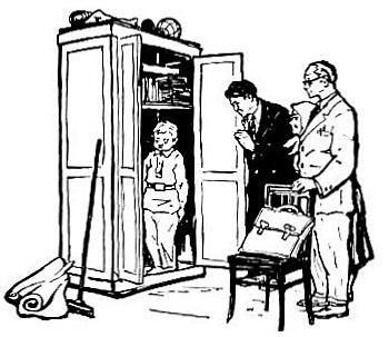 Краткое содержание В шкафу Голявкина за 2 минуты пересказ сюжета