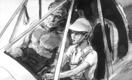 Краткое содержание Олдридж Последний дюйм (Отец и сын) за 2 минуты пересказ сюжета