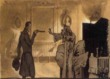 Краткое содержание Пиковая дама по главам (Пушкин) за 2 минуты пересказ сюжета
