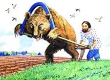 Краткое содержание сказки Медведь-половинщик Даля за 2 минуты пересказ сюжета